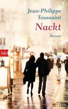 Jean-Philippe Toussaint: Nackt, Buch