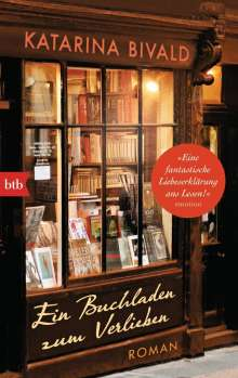Katarina Bivald: Ein Buchladen zum Verlieben, Buch