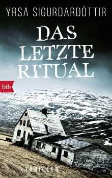 Yrsa Sigurdardóttir: Das letzte Ritual, Buch