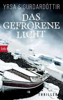 Yrsa Sigurdardóttir: Das gefrorene Licht, Buch