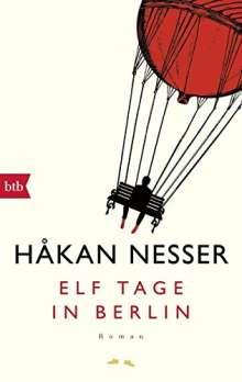 Håkan Nesser: Elf Tage in Berlin, Buch