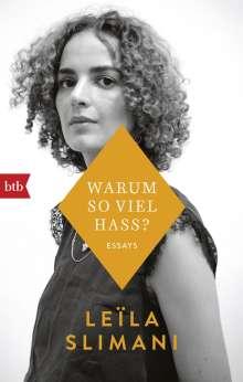 Leïla Slimani: Warum so viel Hass?, Buch
