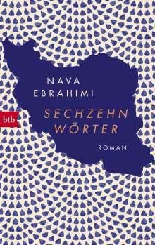 Nava Ebrahimi: Sechzehn Wörter, Buch