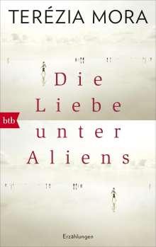 Terézia Mora: Die Liebe unter Aliens, Buch