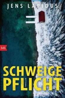 Jens Lapidus: Schweigepflicht, Buch