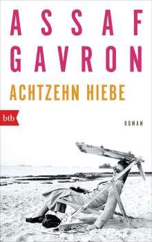 Assaf Gavron: Achtzehn Hiebe, Buch