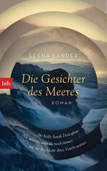 Leena Lander: Die Gesichter des Meeres, Buch