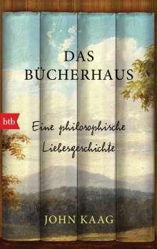 John Kaag: Das Bücherhaus, Buch