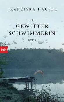 Franziska Hauser: Die Gewitterschwimmerin, Buch