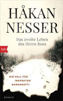 Håkan Nesser: Das zweite Leben des Herrn Roos, Buch
