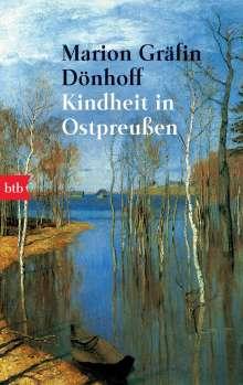 Marion Gräfin Dönhoff: Kindheit in Ostpreußen, Buch