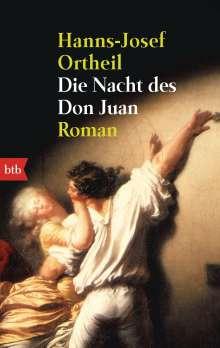 Hanns-Josef Ortheil: Die Nacht des Don Juan, Buch
