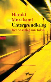 Haruki Murakami: Untergrundkrieg, Buch