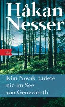 Håkan Nesser: Kim Novak badete nie im See von Genezareth, Buch