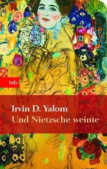 Irvin D. Yalom: Und Nietzsche weinte, Buch