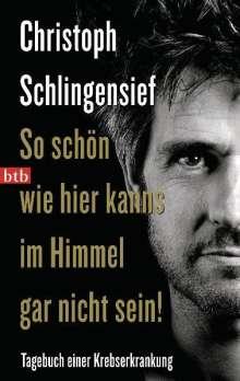 Christoph Schlingensief: So schön wie hier kanns im Himmel gar nicht sein!, Buch