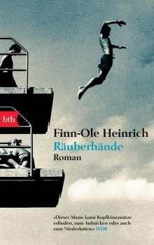 Finn-Ole Heinrich: Räuberhände, Buch