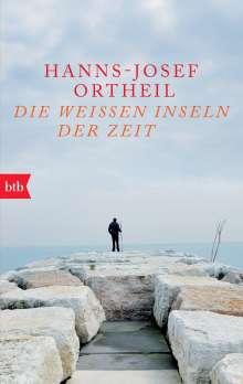 Hanns-Josef Ortheil: Die weißen Inseln der Zeit, Buch
