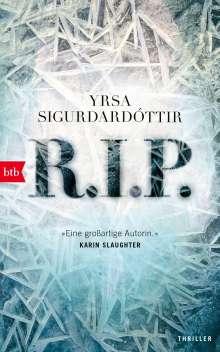 Yrsa Sigurdardóttir: R.I.P., Buch
