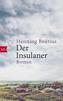 Henning Boëtius: Der Insulaner, Buch