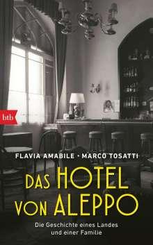 Flavia Amabile: Das Hotel von Aleppo, Buch