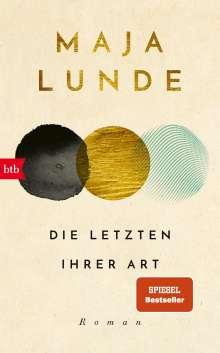 Maja Lunde: Die Letzten ihrer Art, Buch