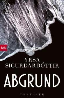 Yrsa Sigurdardóttir: Abgrund, Buch