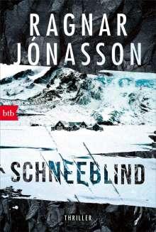 Ragnar Jónasson: Schneeblind, Buch