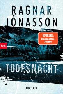 Ragnar Jónasson: Todesnacht, Buch
