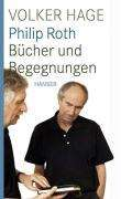 Volker Hage: Philip Roth, Buch
