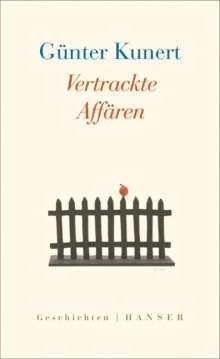 Günter Kunert: Vertrackte Affären, Buch