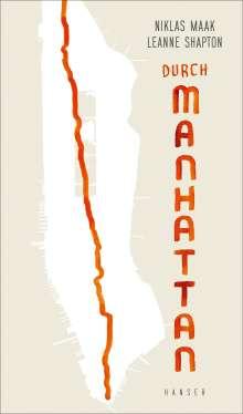 Niklas Maak: Durch Manhattan, Buch