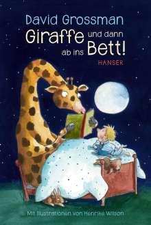 David Grossman: Giraffe und dann ab ins Bett!, Buch