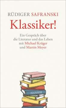Michael Krüger: Klassiker!, Buch