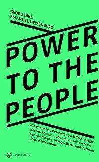 Georg Diez: Power To The People, Buch