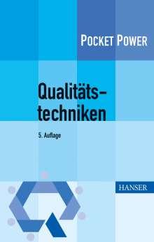 Philipp Theden: Qualitätstechniken, Buch