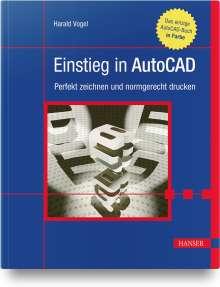 Harald Vogel: Einstieg in AutoCAD, Buch