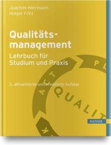Joachim Herrmann: Qualitätsmanagement - Lehrbuch für Studium und Praxis, Buch