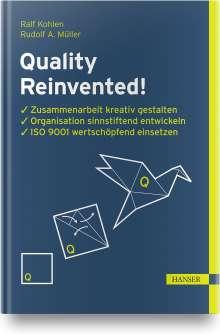 Ralf Kohlen: Quality Reinvented!, Buch