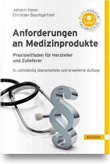 Johann Harer: Anforderungen an Medizinprodukte, Buch