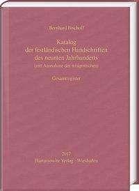 Bernhard Bischoff: Katalog der festländischen Handschriften des neunten Jahrhunderts (mit Ausnahme der wisigotischen). Gesamtregister, Buch