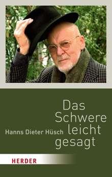 Hanns Dieter Hüsch: Das Schwere leicht gesagt, Buch