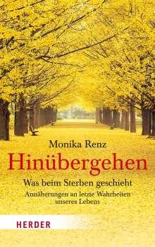 Monika Renz: Hinübergehen, Buch