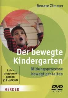 Der bewegte Kindergarten - Bildungsprozesse bewegt gestalten, DVD