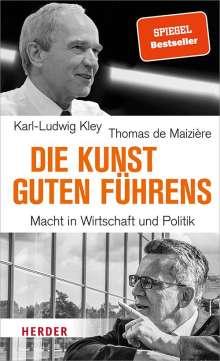 Thomas de Maizière: Die Kunst guten Führens, Buch