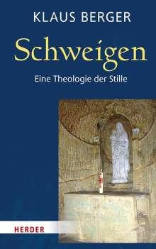 Klaus Berger: Schweigen, Buch