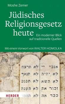 Moshe Zemer: Jüdisches Religionsgesetz heute, Buch