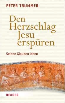 Peter Trummer: Den Herzschlag Jesu erspüren, Buch