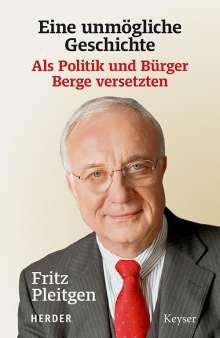 Fritz Pleitgen: Eine unmögliche Geschichte, Buch