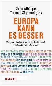 Europa kann es besser, Buch